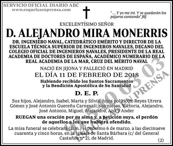 Alejandro Mira Monerris